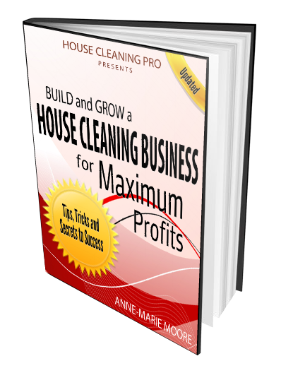 Start a House Cleaning Business Book