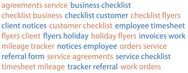 House Cleaning Business Forms Image