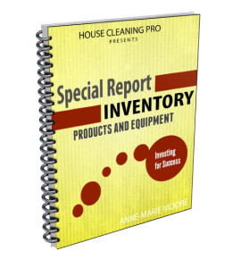 Products & Equipment for a House Cleaning Business