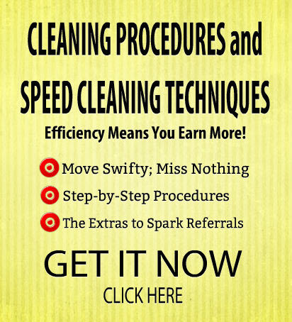 speed cleaning in residential cleaning