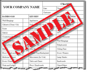 House Cleaning Business Checklist