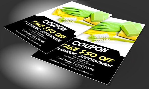 Flyers for Cleaning Services