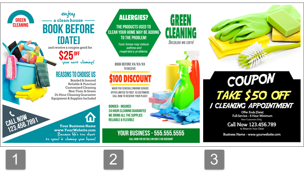 Cleaning Flyers