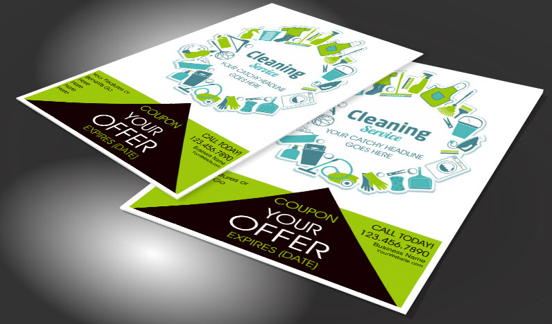 House Cleaning Advertising Flyers