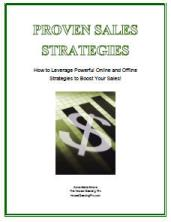 Proven Sales Strategies