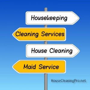 Choosing a Business Name for Your Residential Cleaning Business