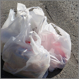 Recycling Plastic Bags Image