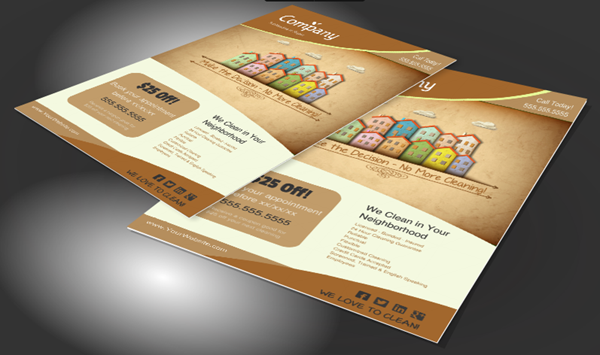 Flyers for Cleaning Service