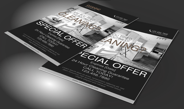 Cleaning Service marketing Flyer
