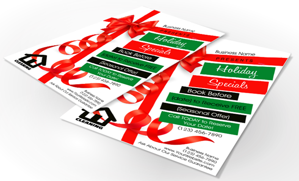 Holiday Business Flyers