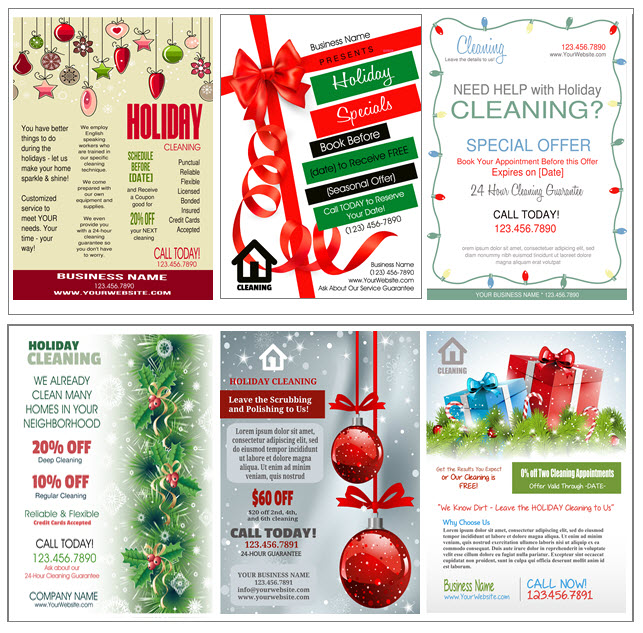sc 1 st  House Cleaning Pro & Cleaning Flyers and Door Hangers