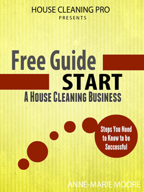 how to start a house cleaning business pdf